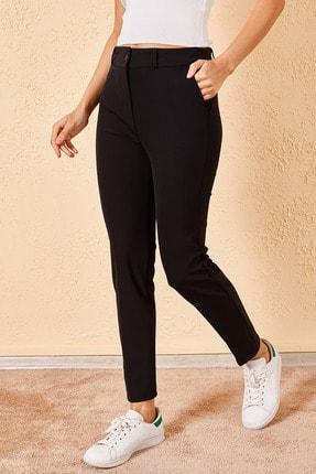 Zafoni Kadın Kalem Siyah Pantolon