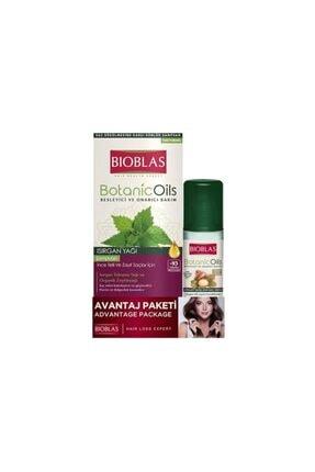 Bioblas Botanic Oils Isırgan Yağı Şampuan 360 Ml + 200 Ml Hediye