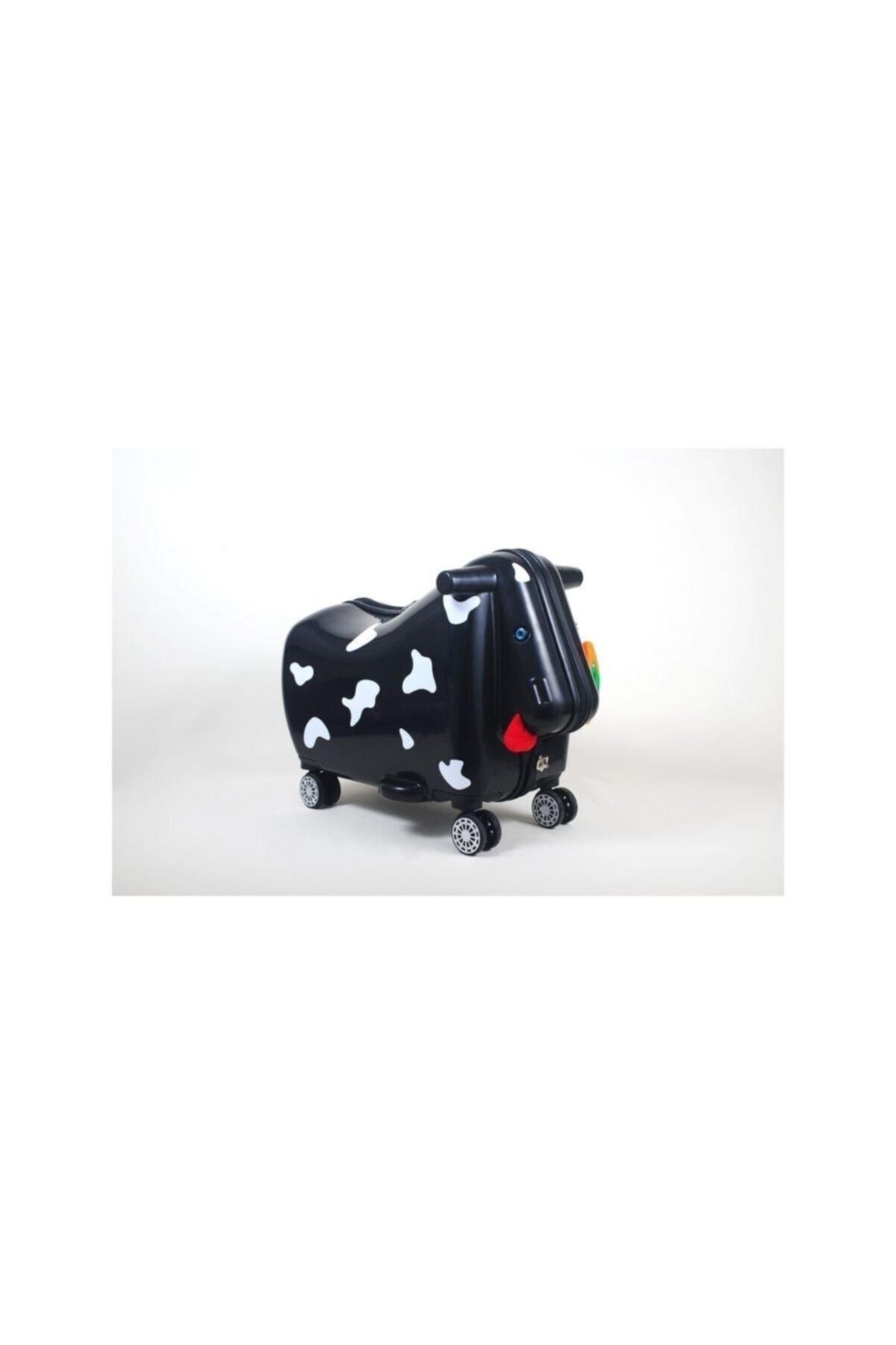 OXKIDS Ox Moo Çocuk Valizi - Siyah 1