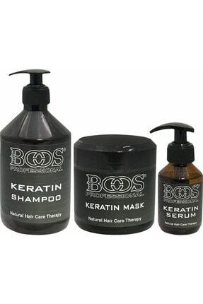 Boos professional Boos Keratin Botox Set 3'lü
