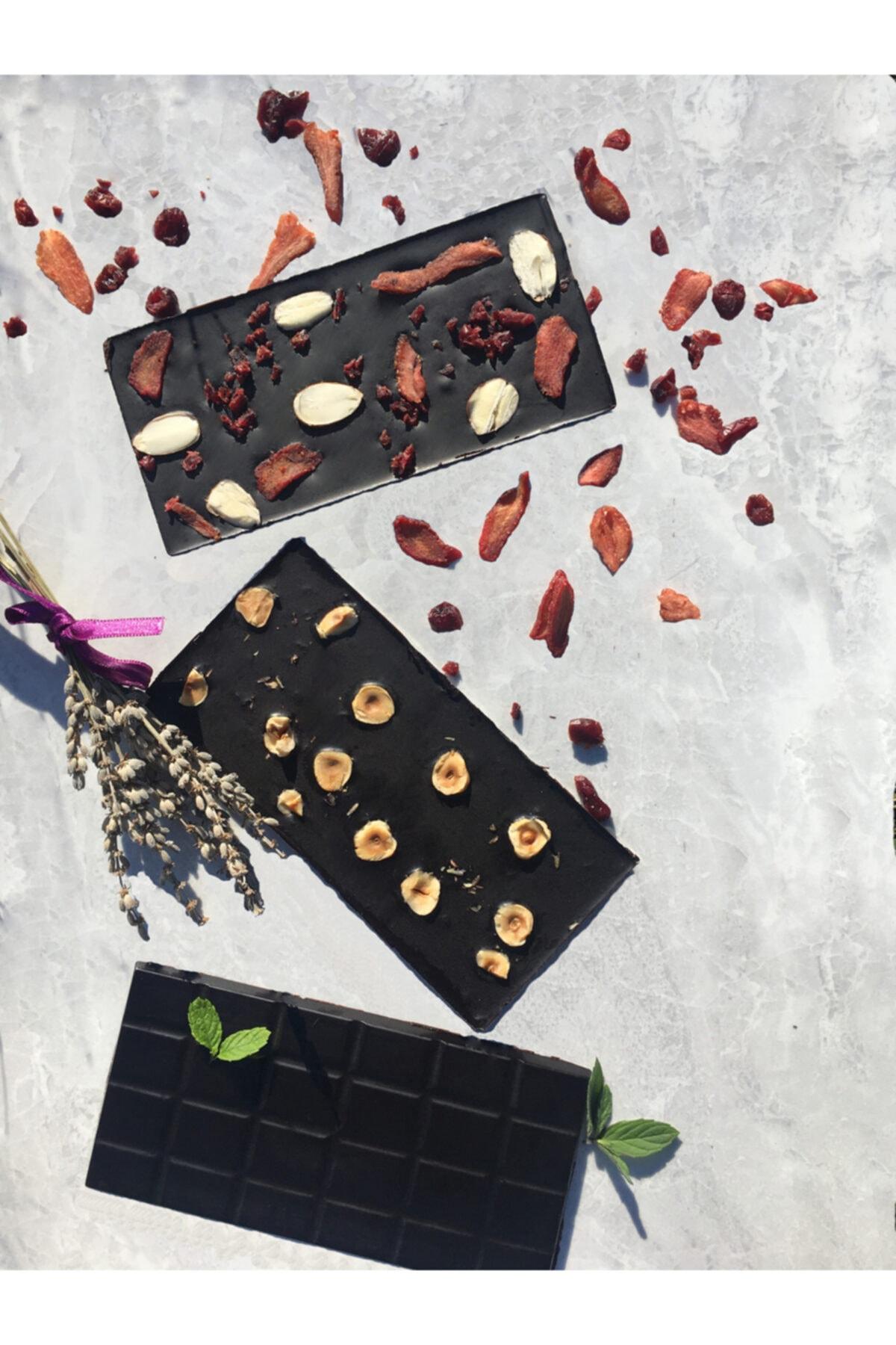 Dolc'ida 3'lü Vegan Çikolata Serisi (3*100gr Baton) 1