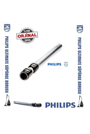 Philips Fc 9923 Marathon Ultimate Orijinal Çelik Süpürge Borusu