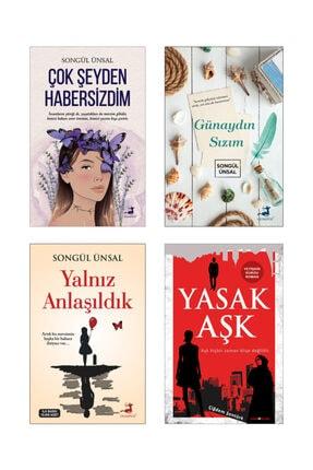 Olimpos Yayınları Çok Şeyden Habersizdim, Günaydın Sızım, Yalnız Anlaşıldık - Songül Ünsal / Yasak Aşk - Ç. Şentürk