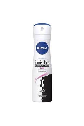 Nivea Invisible For Black&white Clear Kadın Deodorant 150ml