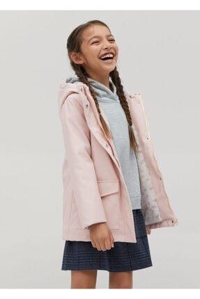 MANGO Kids Suni Kürk Astarlı Ceket
