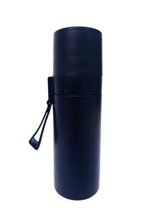 Hediyeler Kapında Lacivert Sızdırmaz Paslanmaz Çelik Termos 350 ml