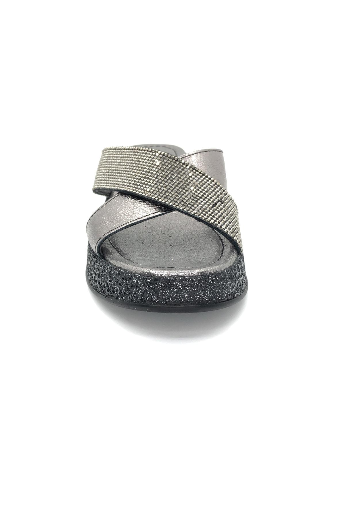 Pierre Cardin Kadın Gümüş Terlik 2
