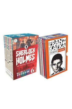 Mavi Çatı Yayınları Franz Kafka Ve Sherlock Holmes Seti Toplam 16 Kitap