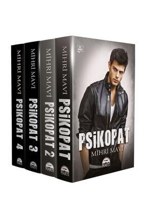 Martı Yayınları Psikopat Seti 4 Kitap - Mihri Mavi