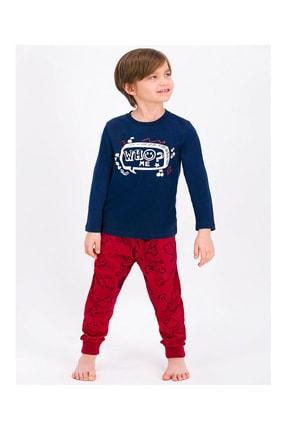 ROLY POLY Erkek Çocuk Lacivert Pijama Takımı
