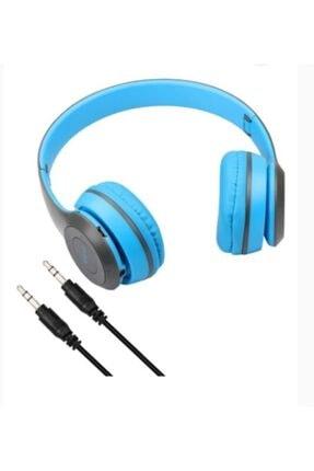Platoon P47 Extra Bass Wireless Bluetooth Kulaklık 5.0+edr Fm Radyo Mavi