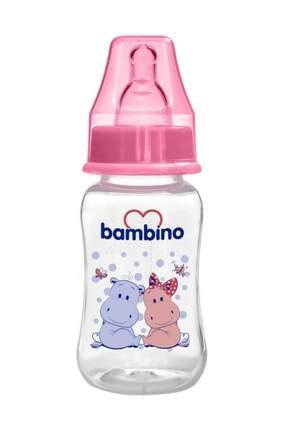 Bambino Kavramalı Pp Biberon 150 Ml - Pembe Hippopotam