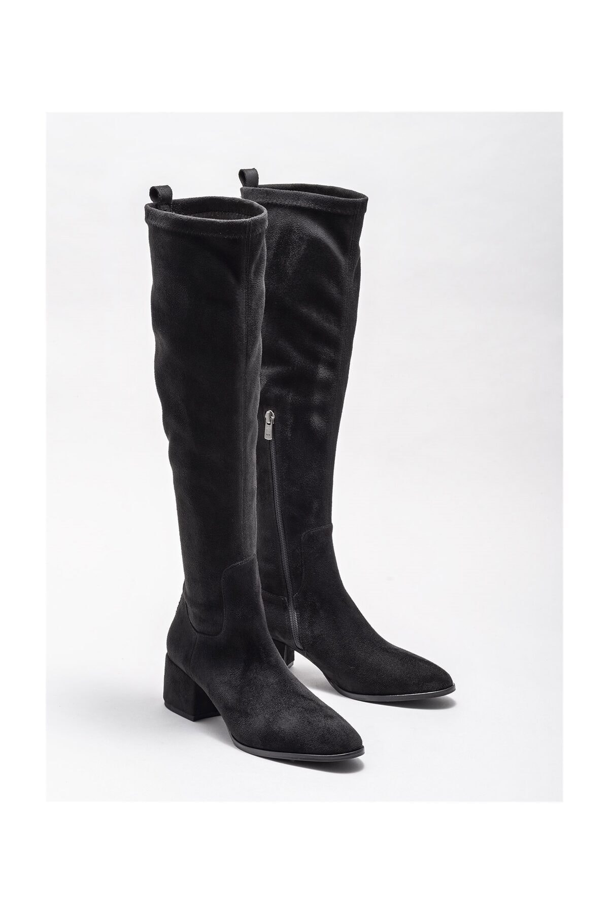 Elle Shoes Kadın Ravendra Sıyah Çizme 20KTO34102 2