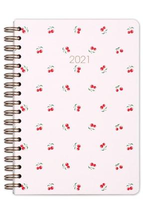 Matt Notebook 2021 Kiraz Haftalık Planlayıcı Ajanda
