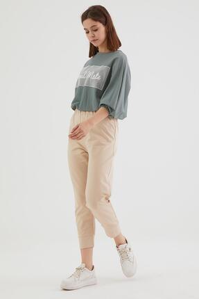 Loreen Kadın Koyu Bej Pantolon 30189-148