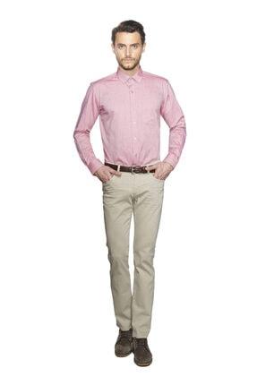 ALTINYILDIZ CLASSICS Erkek Mercan Regular Fit Gömlek
