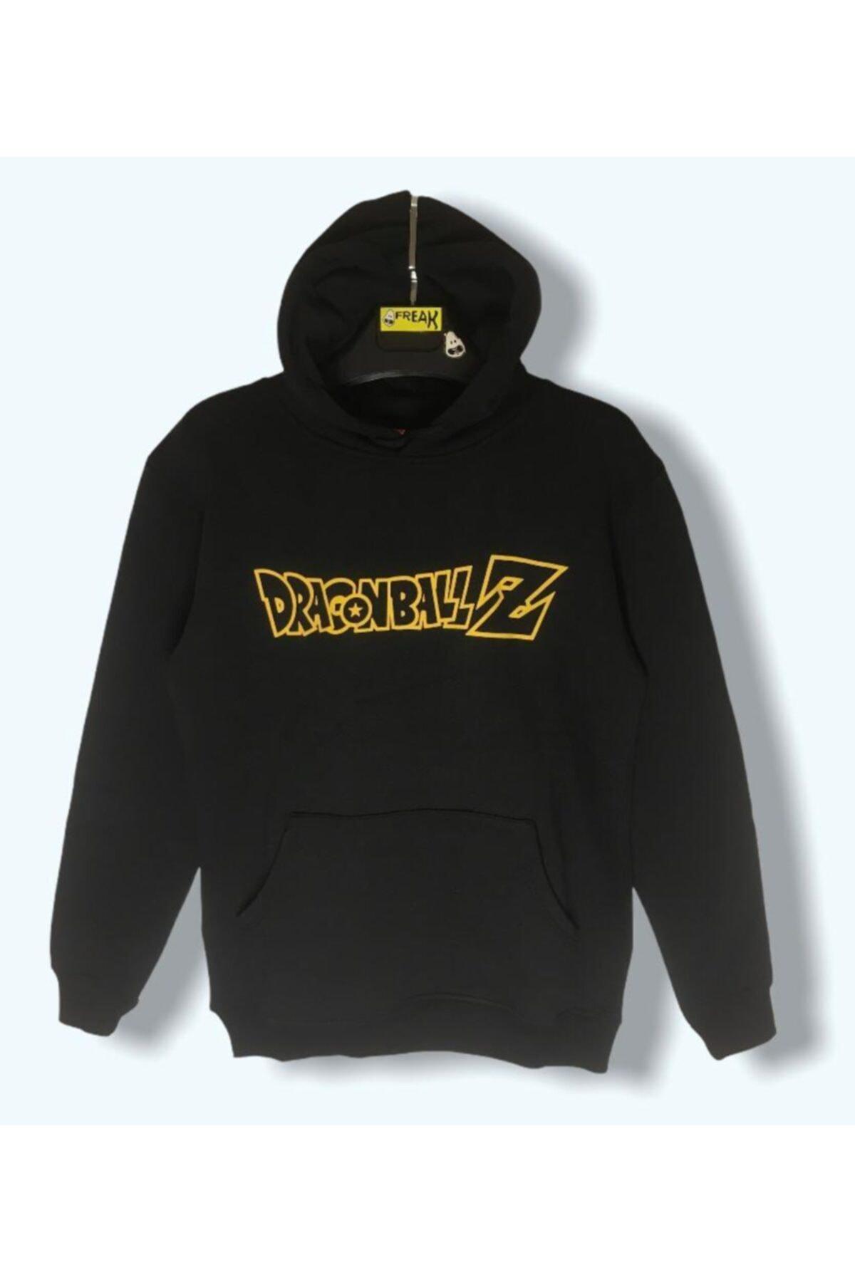 LUCKY Kadın Siyah Dragon Sweatshirt 2