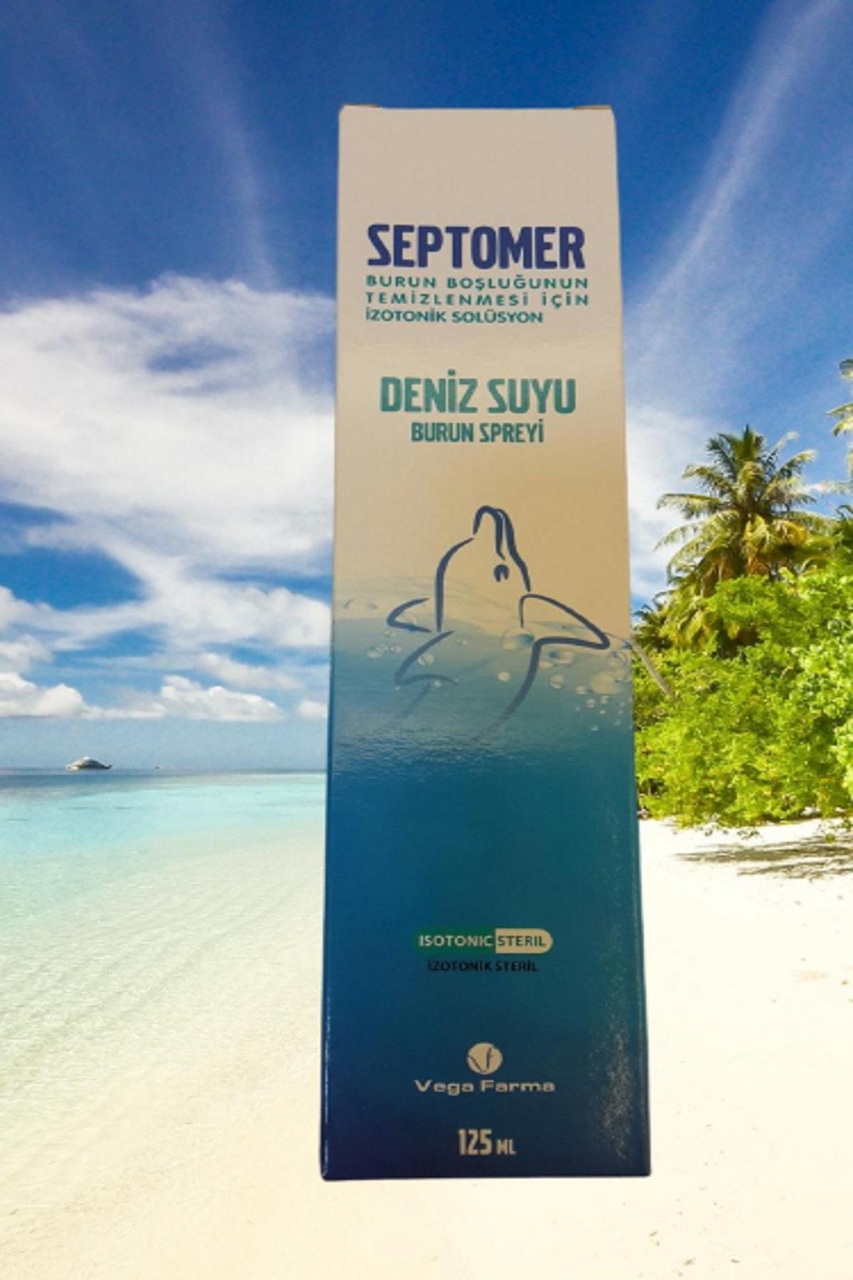 Septomer Deniz Suyu Burun Spreyi 125 ml 1