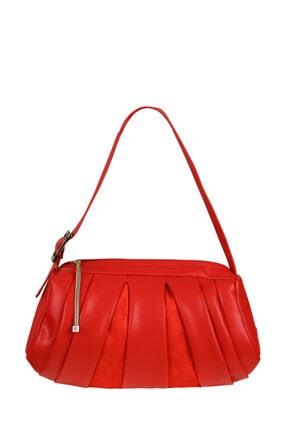 Matmazel Kadın Kırmızı Omuz Çantası