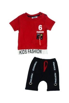 Popolin Kids Fashion Baskılı Erkek Çocuk Takım
