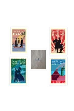 İş Bankası Kültür Yayınları Mehmet Rauf (eylül, Halas, Genç Kız Kalbi, Aşkın Yarını) + Kağıt Poşet