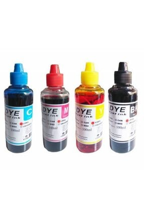 HPE For Hp Deskjet Ink Advantage 2060 - K110 Kartuş Dolum Mürekkebi Takım 4x100ml Set