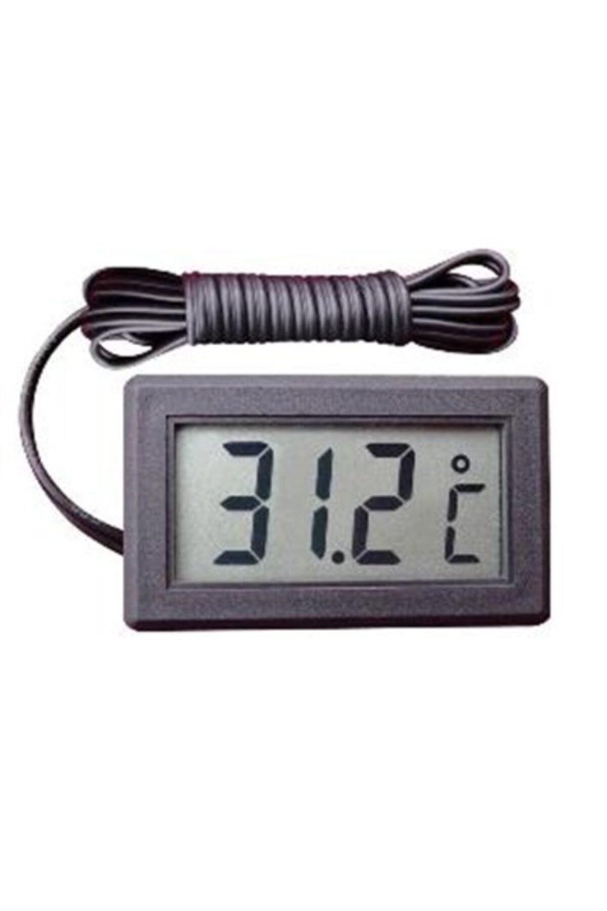 Arduino Dijital Problu Termometre Lcd Mutfak Iç Dış Mekan Kuluçka Sıcaklık Ölçer Tpm 10 Tpm10 2