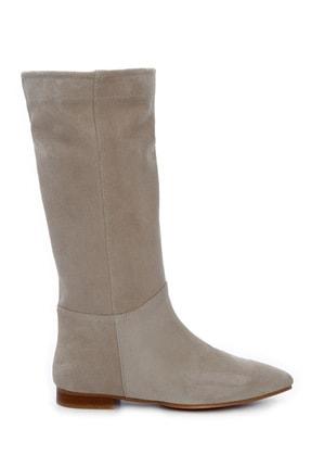 KEMAL TANCA Kadın Derı Çizme Çizme 762 TT1905 BYN CZM SK20-21