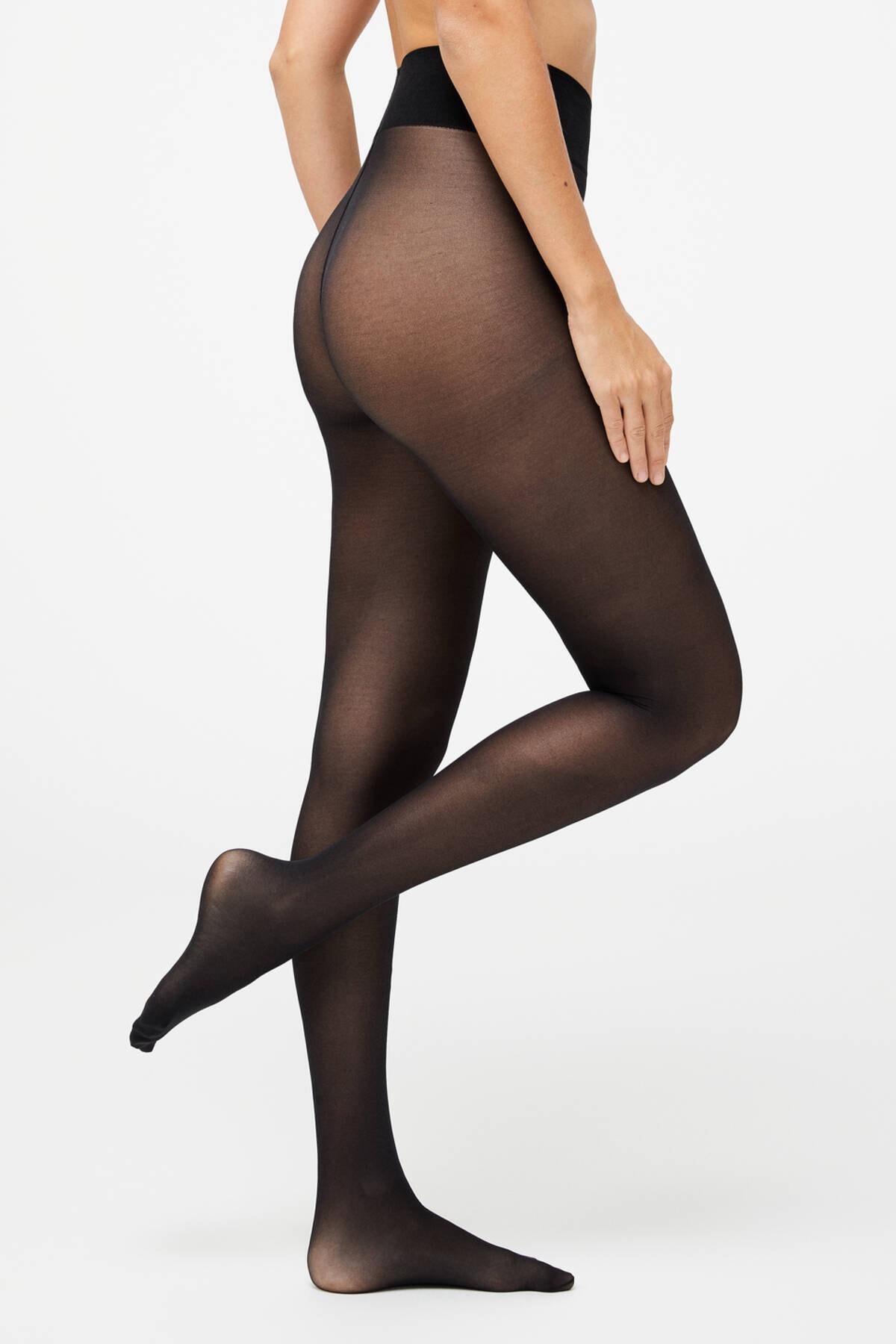 Oysho Kadın 7476 30 Den Düz Külotlu Çorap