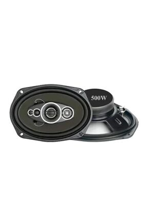 Soundmax Sx-691 5 Yollu 500w 6x9'' Koaksiel Maksimum Güç Oval Hoparlör