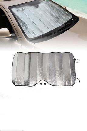 GD 24 Oto Güneşlik 150x70 Büyük Battal Boy Ön Cam Güneşliği Metalize