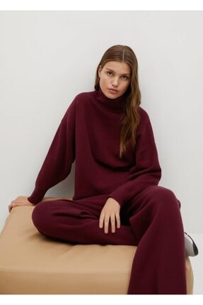 MANGO Woman Kloş Örgü Pantolon