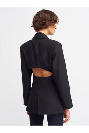 Dilvin 6891 Blazer Ceket-siyah