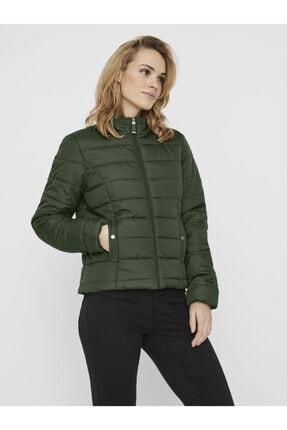 Vero Moda Kadın Yeşil Kapüşonsuz Hafif Şişme Mont 10230844 VMSIMONE