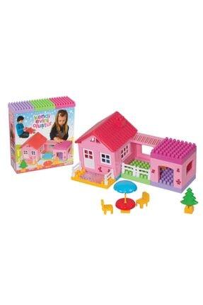 Dede Oyuncak Tek Katlı Ev Bloklar 36 Parça