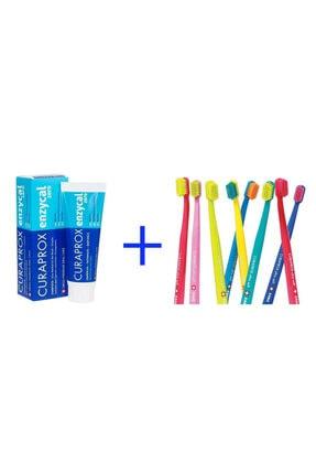 Curaprox Enzycal Zero Diş Macunu & Cs 5460 Ultra Yumuşak Diş Fırçası