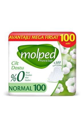 Molped Pure&soft Hijyenik Ped Normal Mega Paket 100 Adet