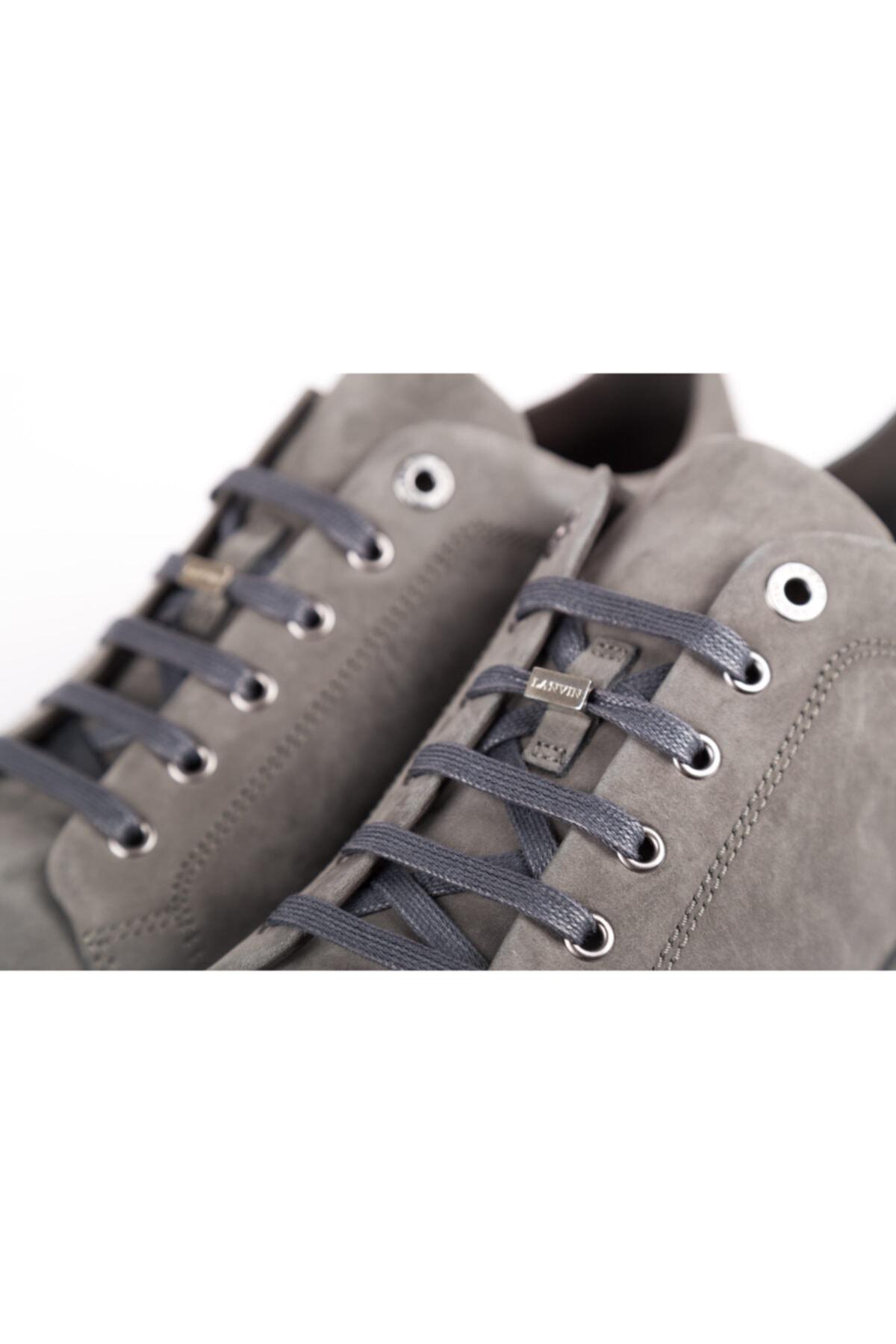 Lanvin Erkek Gri Sneakers 1