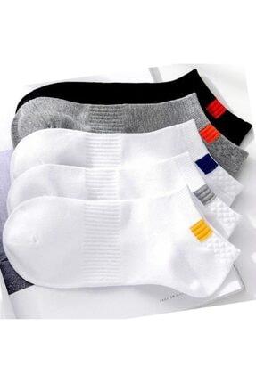 BGK Unisex 5'li Spor Patik Çorap Yıkanmış