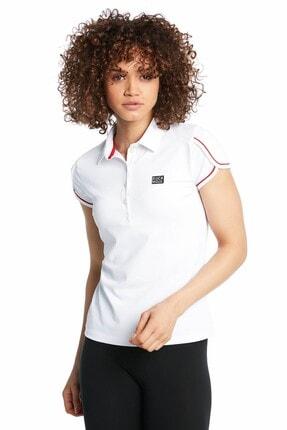 Ruck & Maul Kadın Beyaz Polo Tişört 18313 1000