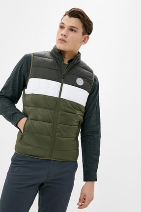 Jack & Jones Erkek JJEMAGIC BODYWARMER COLLAR STS 12173754