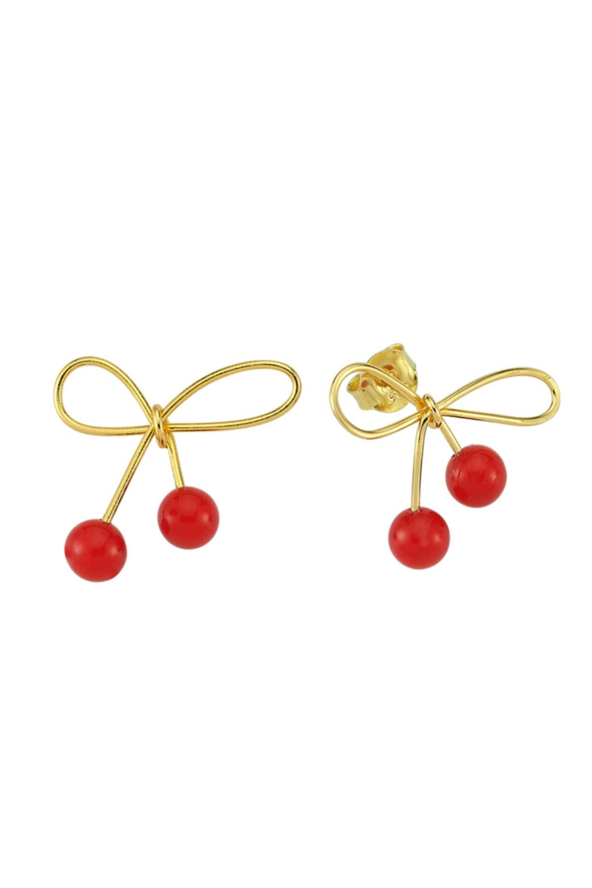 Luzdemia Red Cherry Earr. 925 1