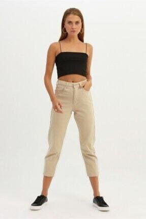 Quzu Kadın Bej Renk Pantolon