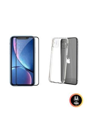 Sunix Iphone 11 Ekran Koruyucu + Şeffaf Kılıf