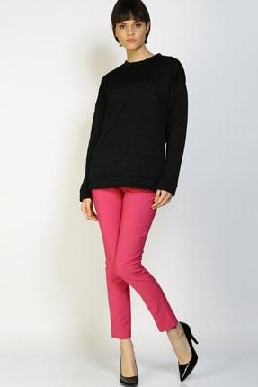 LİMON COMPANY Kadın Pembe Slim Fit Pantolon 501602362