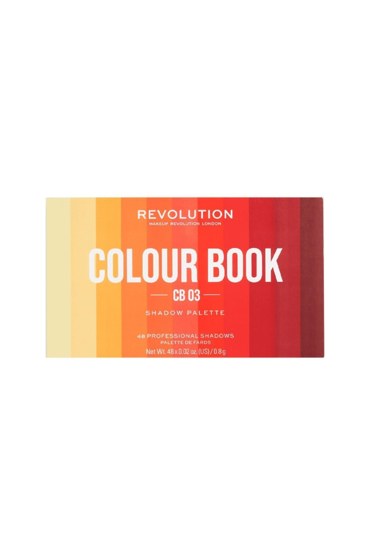 MAKEUP REVOLUTION Revolution Colour Book No: Cb03 Far Paleti 1