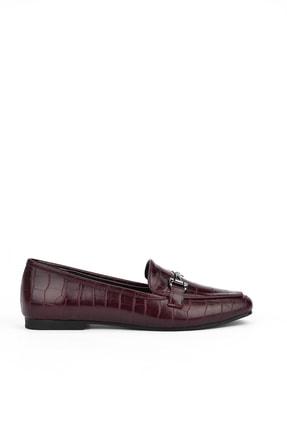 Ziya Kadın Bordo Ayakkabı 103360 2002
