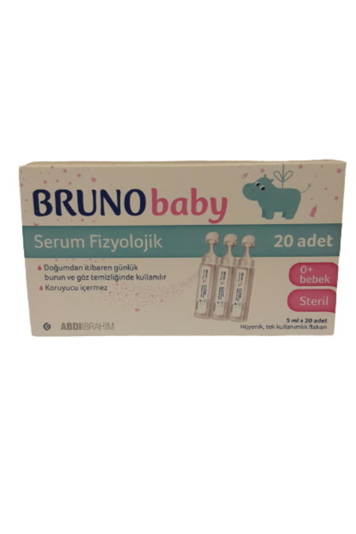 Bruno Baby Serum Fizyolojik Damla 5 ml  X 20 Adet 1