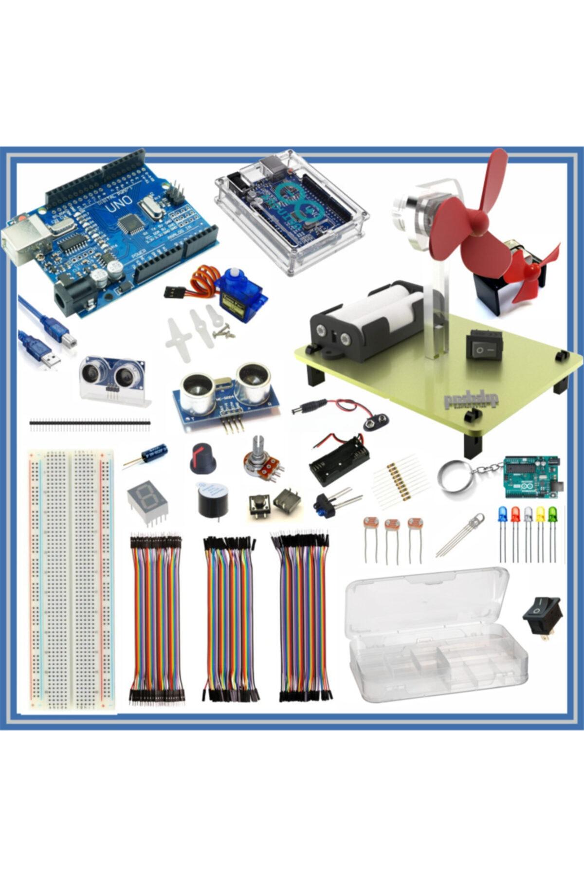 Arduino Başlangıç Seti Uno R3 Kodlamaya Giriş 38 Parça 141 Adet -- 1