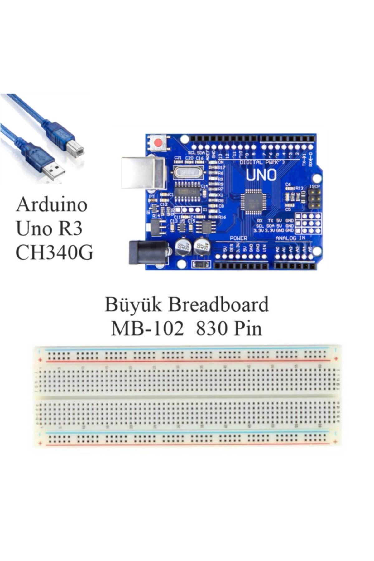 Arduino Başlangıç Seti Uno R3 Kodlamaya Giriş 38 Parça 141 Adet -- 2